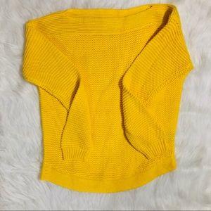 Lauren Ralph Lauren yellow sweater